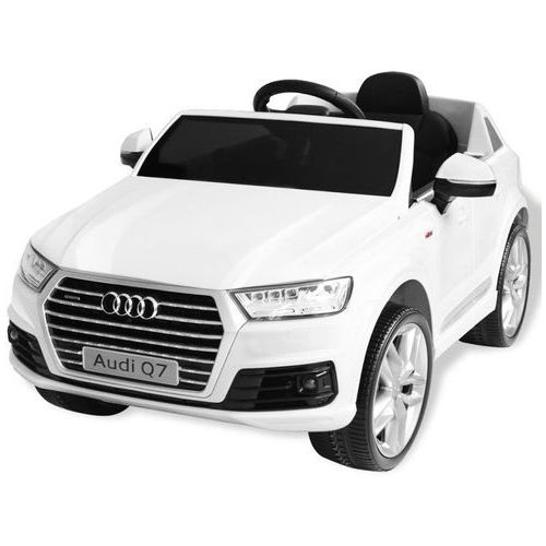 elektryczny samochód dla dzieci, białe audi q7, 6 v marki Vidaxl