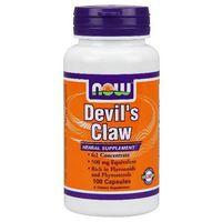 Kapsułki Now Foods Devil's Claw Diabelski Pazur 100 kaps.