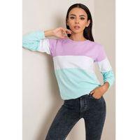 Bluza damska w kolorowe pasy 8F41AM Oferta ważna tylko do 2031-09-24