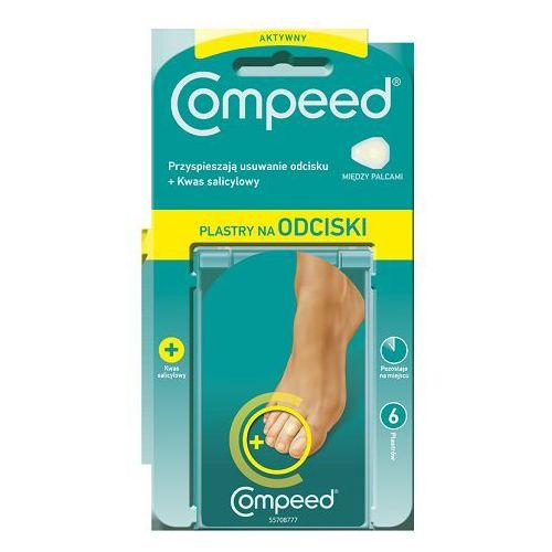 COMPEED Plaster Active Corn na odciski między palcami x 6 sztuk