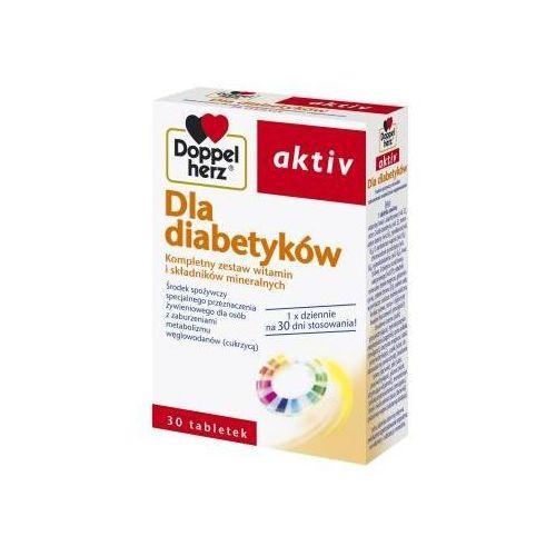 Tabletki Doppelherz Aktive Dla diabetyków 30 tabl