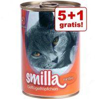 Korzystny pakiet Smilla Puszki z drobiem, 12 x 400 g - Delikatny drób z rybą (4260077044086)