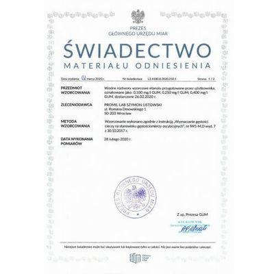 Pozostałe akcesoria samochodowe Promiler Polskie Centrum Kalibracji