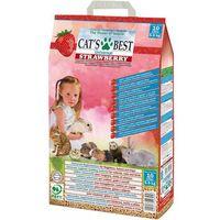 Cat's best universal strawberry żwirek - peletki niezbrylające truskawkowe dla kota 10l