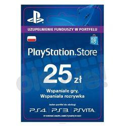 Sony playstation network 25 zł [kod aktywacyjny]