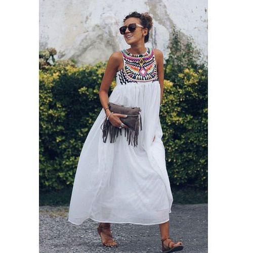 Sukienka ARIAH, kolor biały