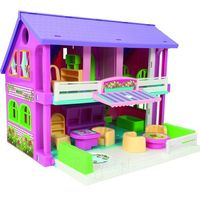 Domek dla lalek 37 cm play house pudełko marki Wader