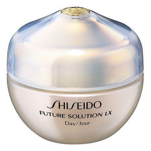 Shiseido Dzienna przeciwsłonecznej dla wszystkich typów skóry przyszłego rozwiązania LX (całkowita Krem ochro