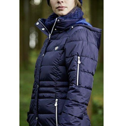 zimowy płaszcz damski Covalliero A/W 2020 - granatowy, XXL (44)