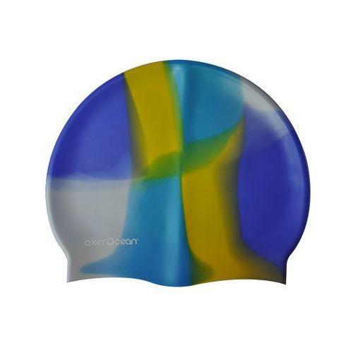 Axer ocean Czepek silikonowy pływacki dla dorosłych - wielokolorowy