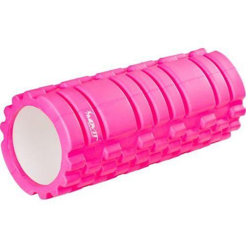 Wałek do masażu MOVIT 33 x 14 cm, różowy