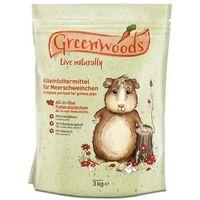 Pokarm greenwoods dla świnek morskich - 2 x 3 kg marki Greenwoods small animals