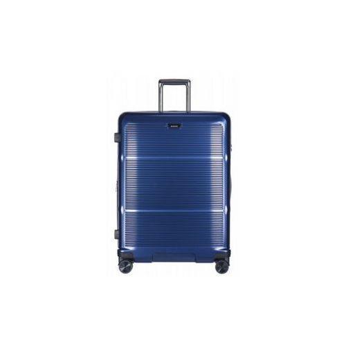 PUCCINI walizka średnia twarda z kolekcji VIENNA PC021 4 koła możliwość poszerzenia kłódka TSA 100% Policarbon