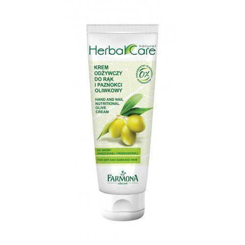 Farmona herbal care oliwkowy krem odżywczy do rąk i paznokci 100ml - Ekstra rabat
