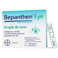 Bayer Bepanthen eye krople do oczu 0,5ml x 20 sztuk