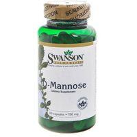 Kapsułki Swanson D-Mannose (D-Mannoza) 700 mg - 60 kapsułek