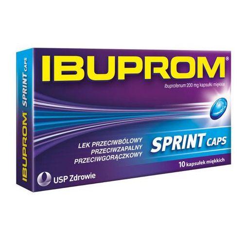 IBUPROM Sprint Caps x 10 kapsułek