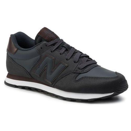 Sneakersy - gm500nvb granatowy marki New balance
