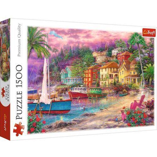 Puzzle 1500 Na złotych brzegach TREFL, GXP-694788