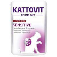 sensitive kaczka - saszetka 85g marki Kattovit
