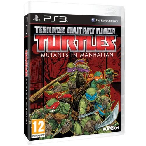 Teenage Mutant Ninja Turtles Mutants in Manhattan (PS3)