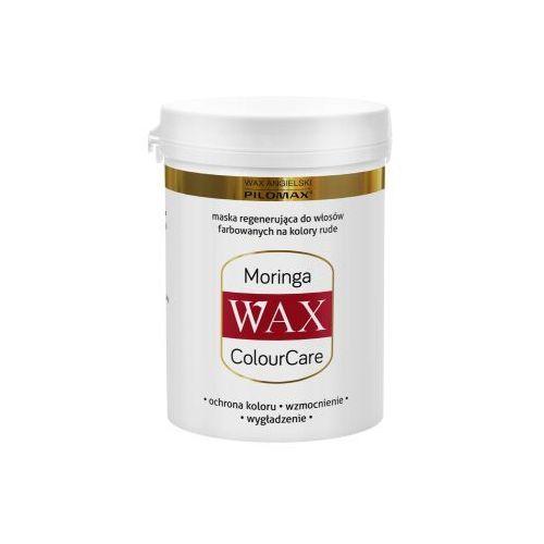 Wax angielski pilomax Wax maska regenerująca moringa do włosów farbowanych na kolory rude wax colourcare 240 g (5901986060154)