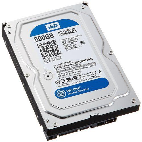 Dysk WD WD5000AZLX 500GB Blue SATA III (0718037782881)