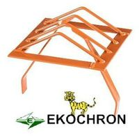 Ekochron spółka z ograniczoną odpowiedzialnością, spółka komandytowa Kratka ochronna komina 30 cm ceglasty (ral 8004)