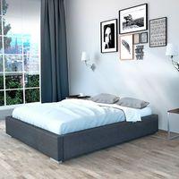 Rama łóżka tapicerowanego 160/200 Grupa 1 Bez pojemnika Standard tel: 575-636-868, szybko, bezpiecznie, 30 dni na zwrot, Raty0%