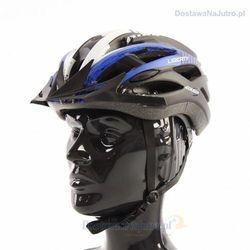 Kask rowerowy axer liberty black z daszkiem marki Axer sport