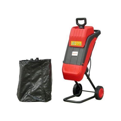 Hecht czechy Rozdrabniacz elektryczny zębatkowy nożowy rębak do gałęzi 2400w hecht 624 + torba - oficjalny dystrybutor - autoryzowany dealer hecht - ewimax (8595614911573)