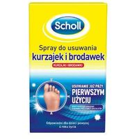 Spray SCHOLL Spray do usuwania kurzajek i brodawek 80ml