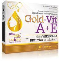 Kapsułki OLIMP Gold-Vit A+E z wiesiołkiem i biotyną x 30 kapsułek