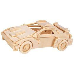 Łamigłówka drewniana gepetto - samochód rajdowy (race car) marki Eureka