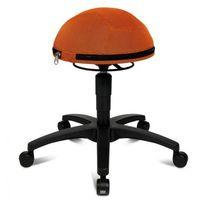 Topstar Krzesło dla zdrowych pleców half ball - pomaranczowe