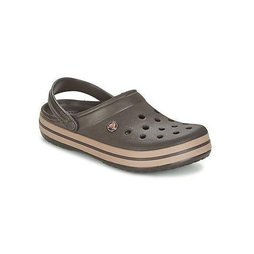 Chodaki Crocs CROCBAND, kolor brązowy