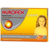 Kapsułki Nurofen dla dzieci Junior 100mg x 12 kapsułek do żucia