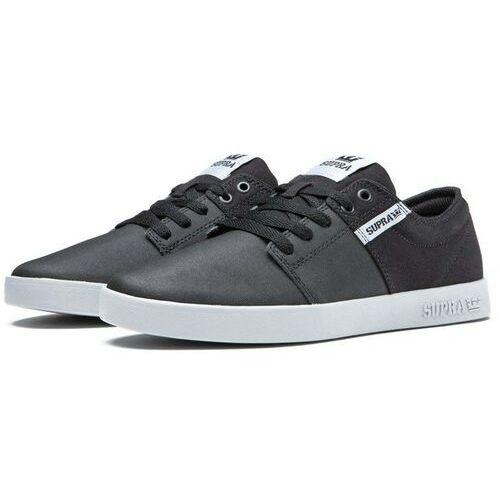 SUPRA Buty - Stacks Ii Black Tuf-Lt Grey (057) rozmiar: 44, kolor czarny