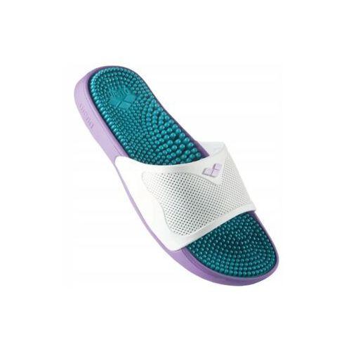 Arena klapki marco x grip hook solid, kolor: purple, materiał: pianka eva, rozmiar: 43 (3468335894485)
