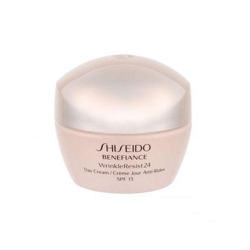 Shiseido Benefiance Wrinkle Resist 24 Day Cream SPF15 krem do twarzy na dzień 50 ml dla kobiet