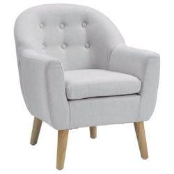 fotel mały 49x51x58 cm, kolor szary marki Kids concept