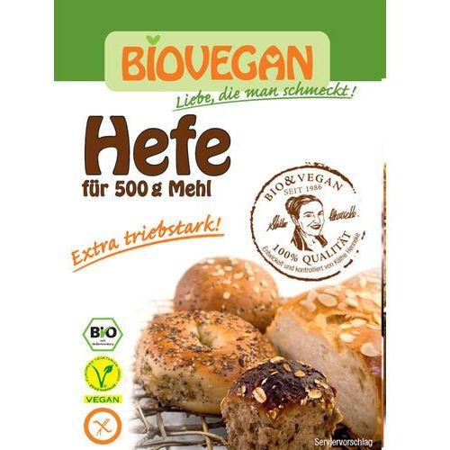Bio vegan Drożdże piekarskie suszone 9g bio