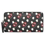 Portfel printed lips marki Marc jacobs