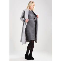 MAMALICIOUS MLJOYAN Sukienka dzianinowa medium grey melange