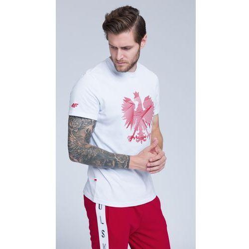 62afecb810e524 Koszulka kibica męska TSM500 - BIAŁY, kolor biały - sklep ...