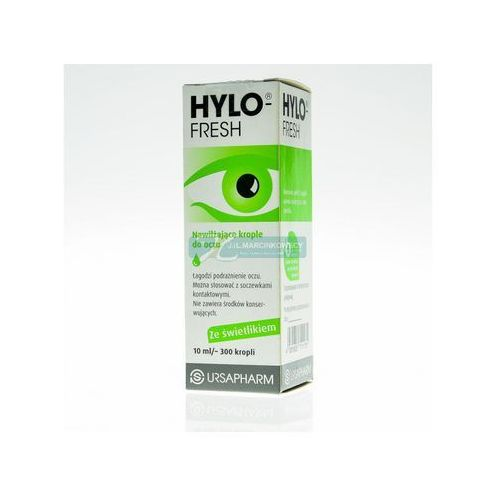 Ursapharm Hylo-fresh krople do oczu 10ml