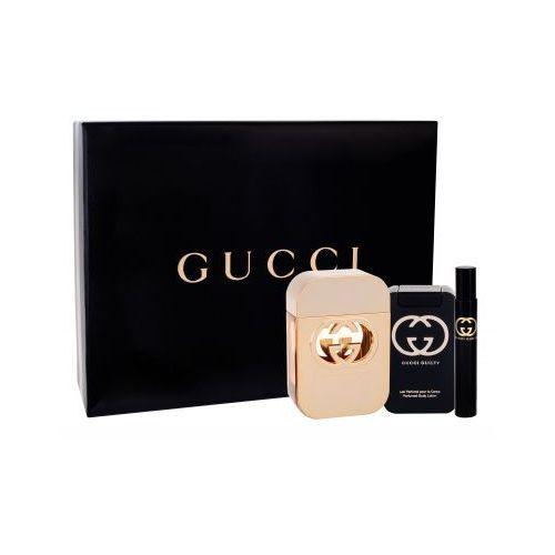 Gucci Gucci Guilty zestaw Edt 75ml + 100ml Balsam + 7,4ml Edt dla kobiet