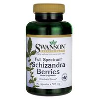 Kapsułki Swanson Cytryniec chiński (Full Spectrum Schizandra Berries) 525mg 90 kaps.