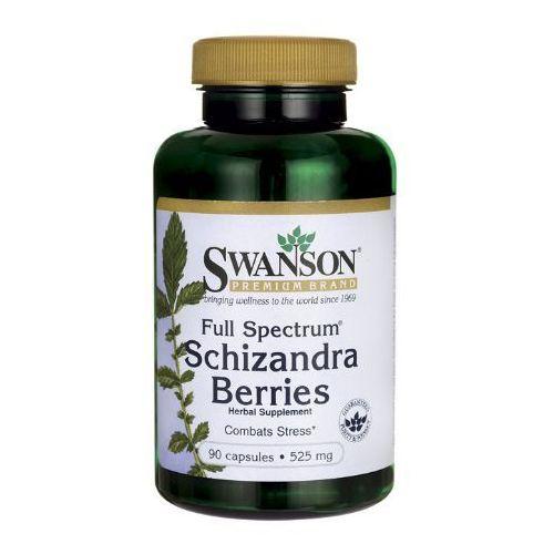 Swanson Cytryniec chiński (Full Spectrum Schizandra Berries) 525mg 90 kaps