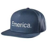 czapka z daszkiem EMERICA - Pure Snapback Navy (401)